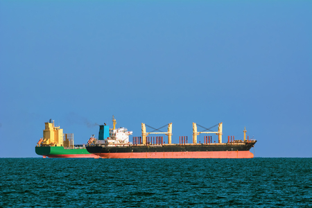 bulk carrier: Container and Bulk Carrier Ships in the Black Sea