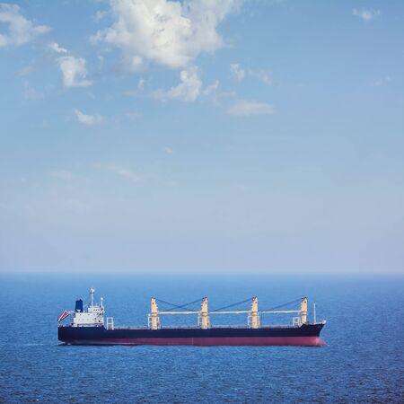 wheelhouse: Bulk Carrier Ship in the Black Sea