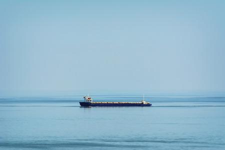 the black sea: Ro-Ro Cargo Ship in the Black Sea