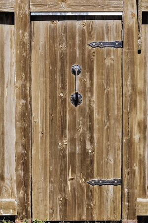 old wooden door: An Old Wooden Door