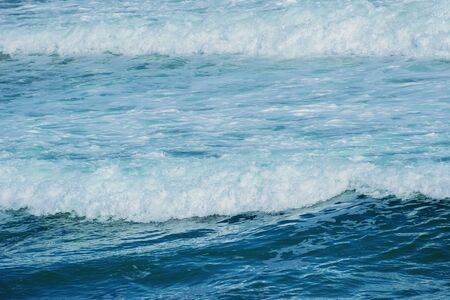 ecological environment: Waves of a Surf on the Black Sea Stock Photo