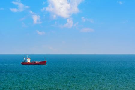 camión cisterna: Buque de petróleo en el Mar Negro