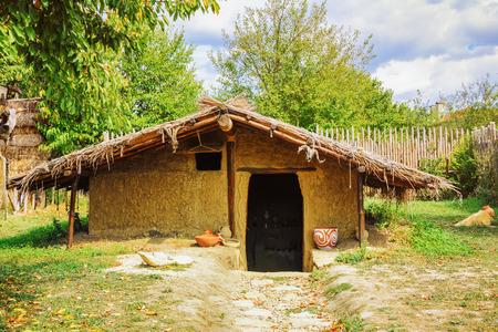 shanty: Small Hut Stock Photo