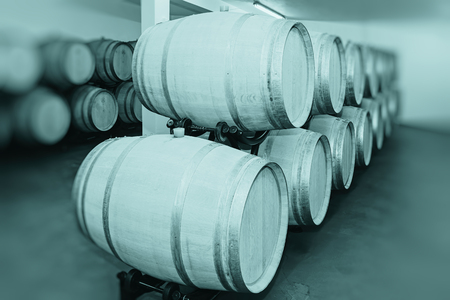 stockroom: Barrels of Wine