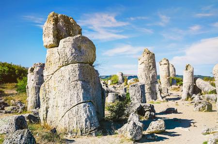 fleecy: Stone Forest - Fabulous Rock Phenomenon. Varna Province, Bulgaria
