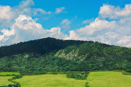 ecological environment: Mountain Range Near Kapushany In Presov District, Slovakia