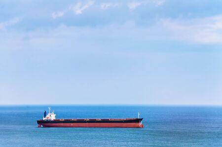 the carrier: Bulk Carrier Ship in the Black Sea