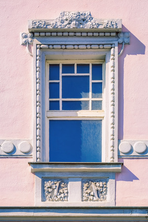 window frame: Window of an Old House