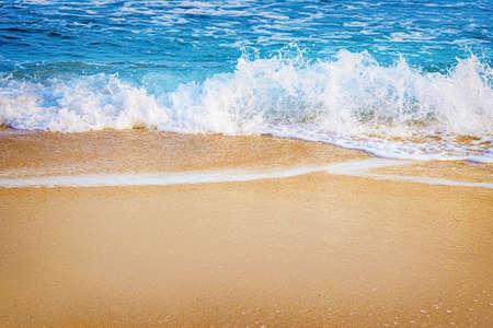 seacoast: Surf on the Seashore of Black Sea