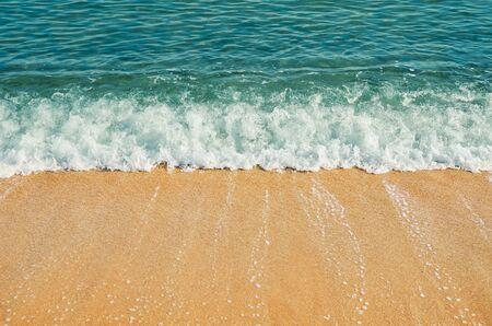 littoral: Surf on the Seashore of Black Sea
