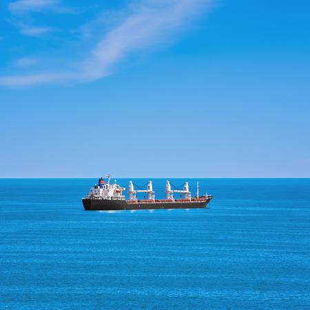 the black sea: Cargo Ship in the Black Sea