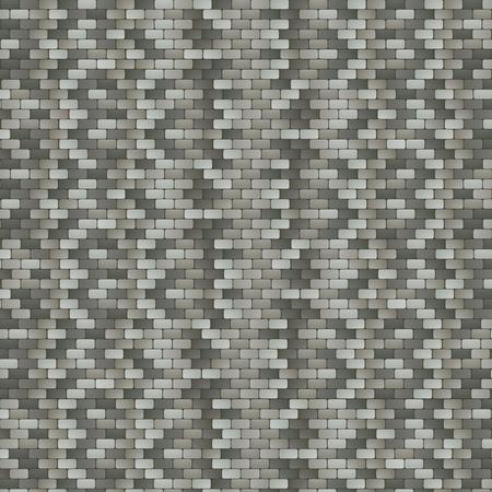 cobblestone street: Illustration of Grey Stone Pavement Background Illustration