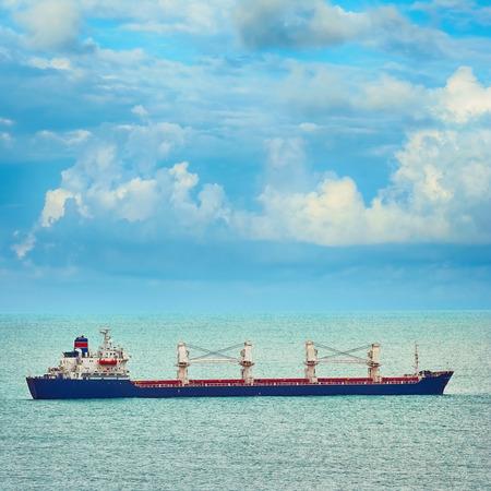 the black sea: Bulk Carrier Ship in the Black Sea