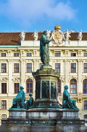 The Monument to Holy Roman Emperor  Franz II and First Austrian Emperor Franz I. Vienna, Austria