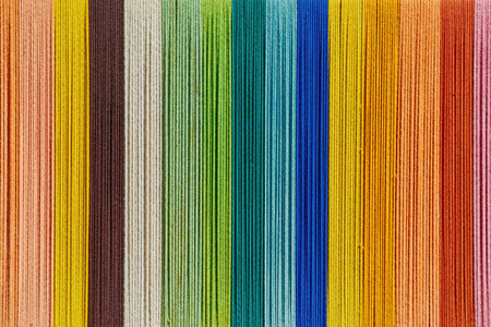 Background of Colorful Yarn