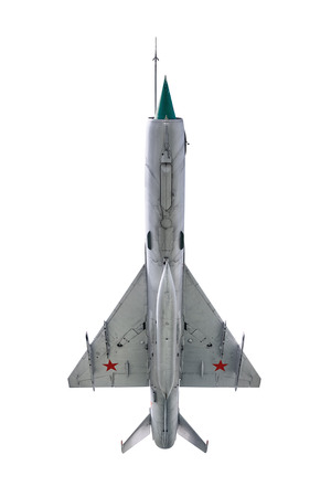 armaments: Fighter Aircraft over the White Background