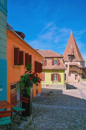 abode: Medieval Buildingd in the Old City of Sigisoara
