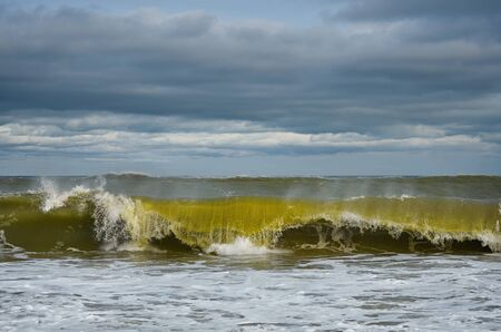 Storm on the Black Sea Stock Photo