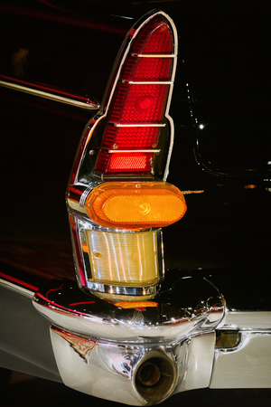 Back Lamp of an Old Car