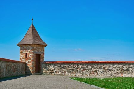 fortify: Lookout Tower of an Old Castle in Bratislava, Slovakia