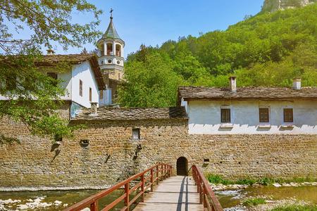 religious building: An Old Monastery in Bulgaria Stock Photo