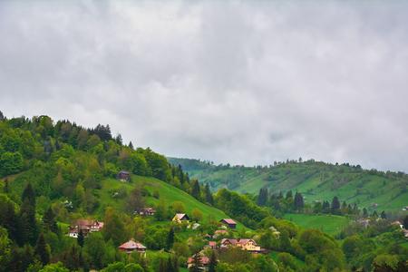 carpathians: Transylvania Landscape. Brasov, Romania