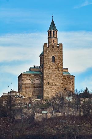 Medieval Stronghold Tsarevets in Veliko Tarnovo, Bulgaria