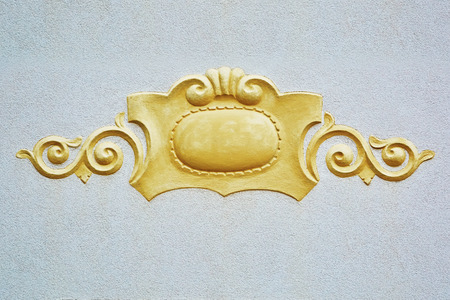 Decorative Element on the Wall of the House