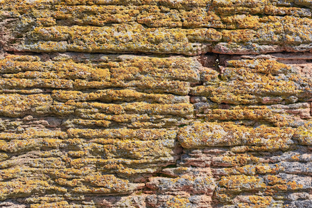 Abstract Background of an Old Stone Wall