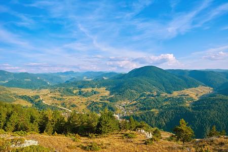 Rhodopes Mountain Range in Southeastern Europe, Bulgaria Stok Fotoğraf