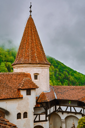 Bran Castle (Draculas Castle) in Brasov, Transylvania, Romania