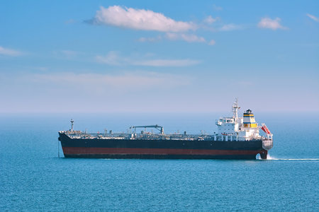 Oil, chemical tanker in the Black sea