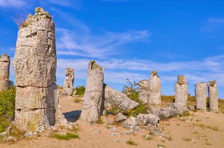 The Stone Desert (Pobiti Kamani) - Fabulous Rock Phenomenon in Varna Province, Bulgaria