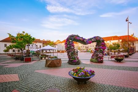 Liberty Square (Piata Libertatii) in Timisoara, Romania