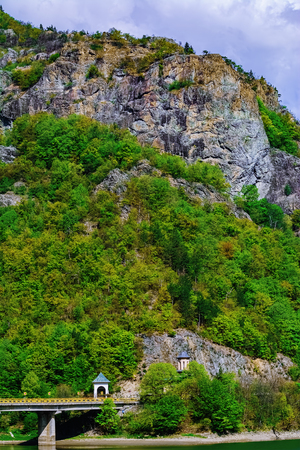 Church in the Carpathian mountains, Romania