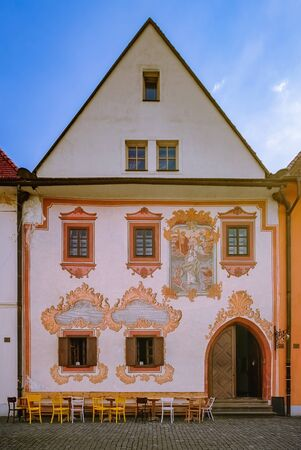 One of the Houses in Bardejov, Slovakia Stock fotó