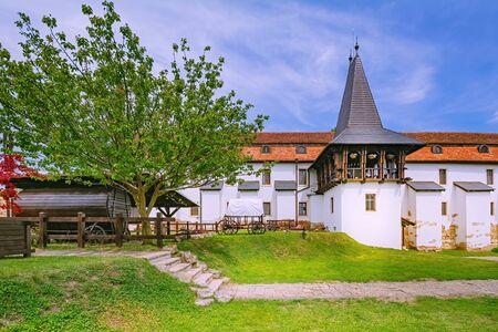 Inside of Alba Carolina Citadel, Alba Iulia, Romania Фото со стока - 129923479