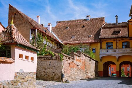 Small Medieval Fortified City - Sighisoara, Romania