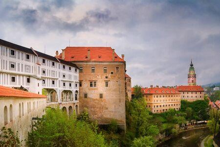 View of the Ð¡esky Krumlov Castle, Czech Republic