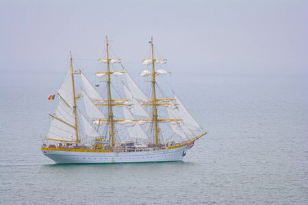 Three Masted Barque in the Black Sea