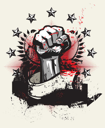 Revolution and protest Vector illustration
