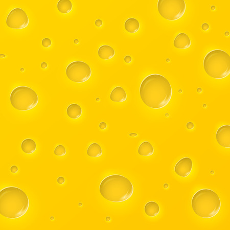 Cheese slice seamless texture background.