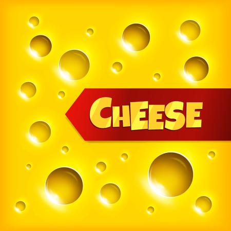 Cheese slice seamless texture background Çizim