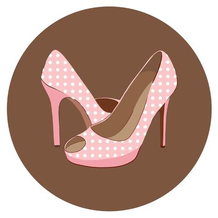 pump shoe: beautiful retro shoes