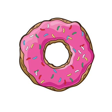 Vector donut Banque d'images - 21523912