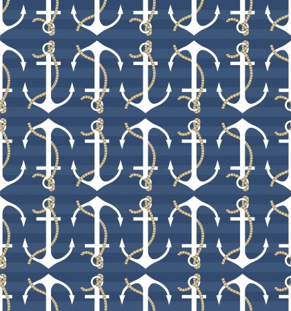 Vector anchors pattern Vector