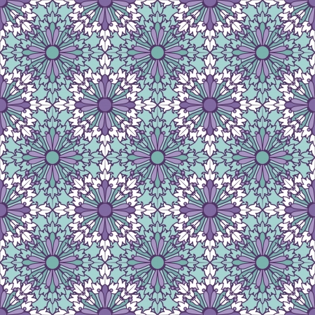 Floral seamless pattern Stock Vector - 21525350