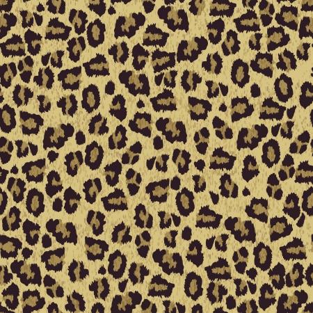 動物: ヒョウ皮膚の質感  イラスト・ベクター素材