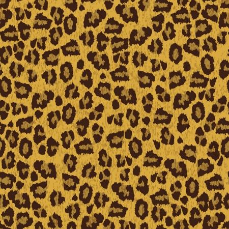 Leopard skin texture Vector
