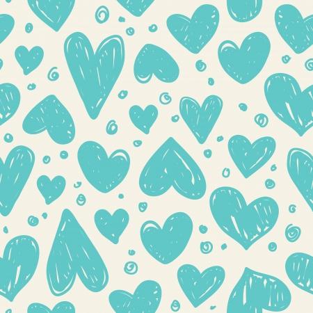 Seamless avec des coeurs valentine Banque d'images - 23268114